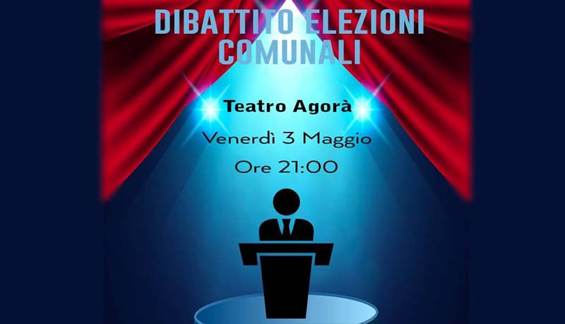 Il Teatro Agorà ospiterà il dibattito elettorale tra i candidati di Carnago