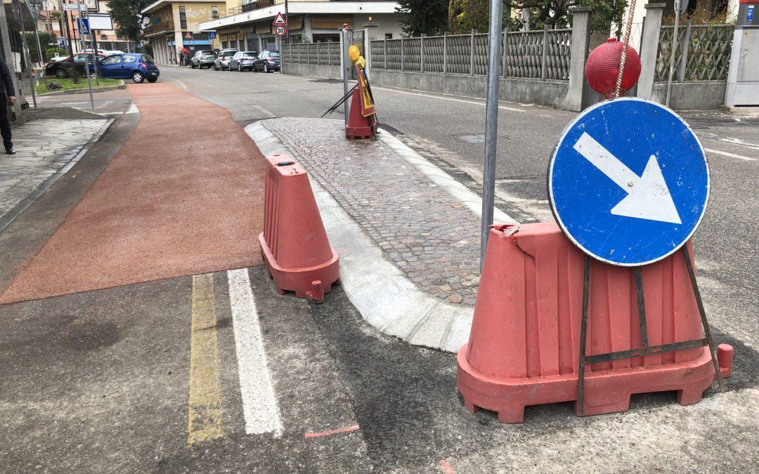 """Proto: """"La ciclabile è stata scelta a tutela di ciclisti e anche pedoni"""""""