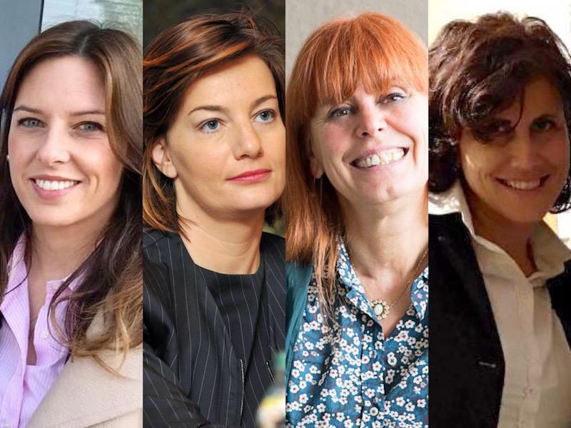 Elezioni europee, la bandiera del Varesotto la portano quattro donne