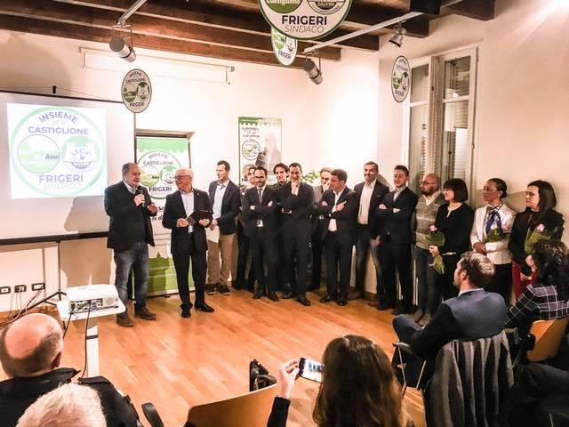 """I candidati di """"Insieme per Castiglione"""": volti nuovi e l'esperienza di chi ha già amministrato"""