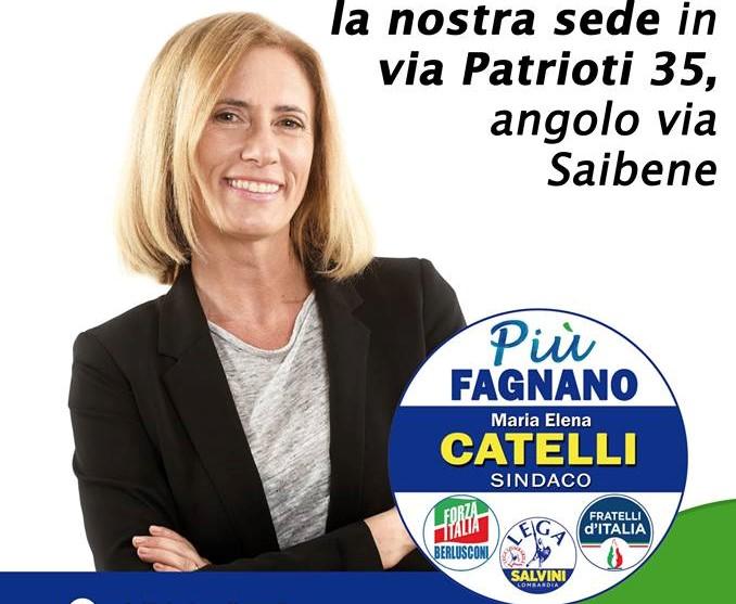 Domenica apre la sede elettorale di Più Fagnano – Elena Catelli sindaco