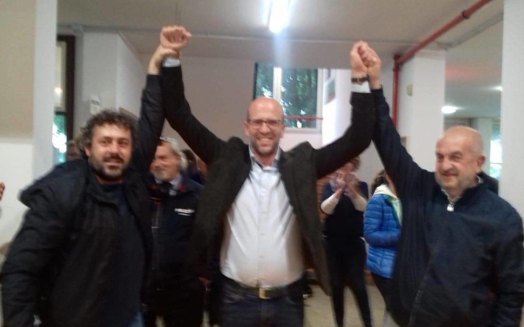 """Fabio Zucconelli si riconferma sindaco: """"Il municipio è la casa di tutti"""""""
