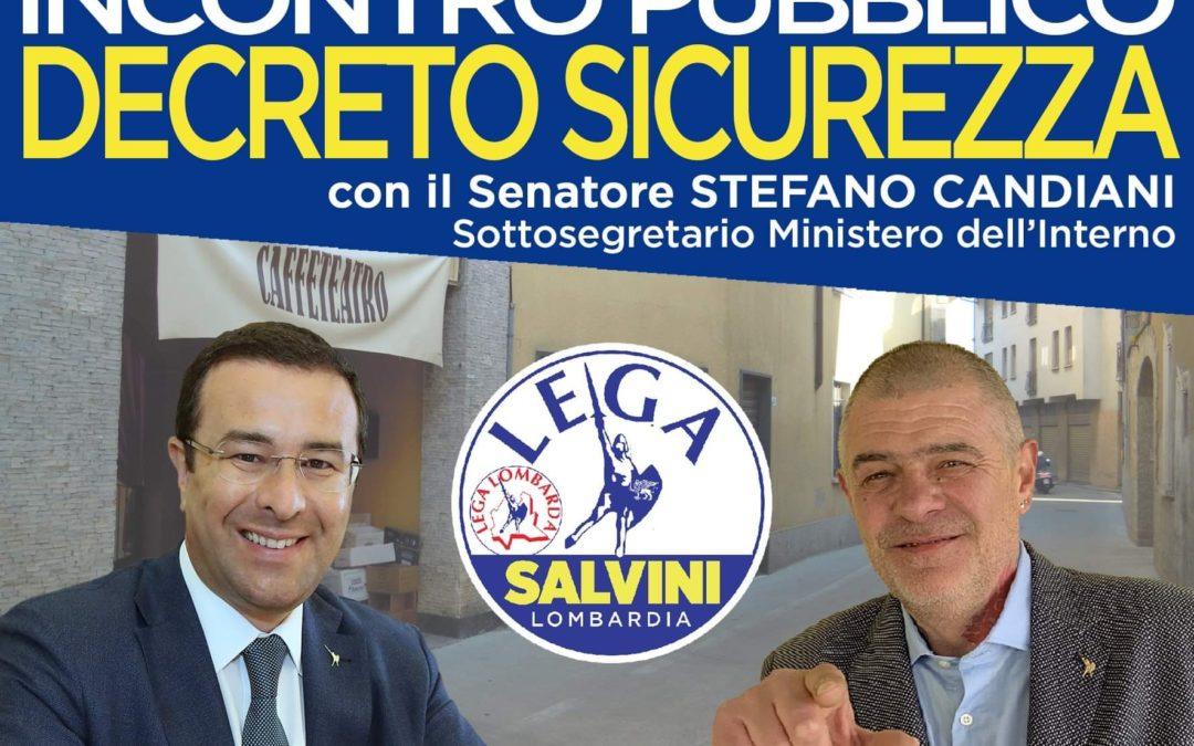 Lega Nord Samarate – serata tema sicurezza