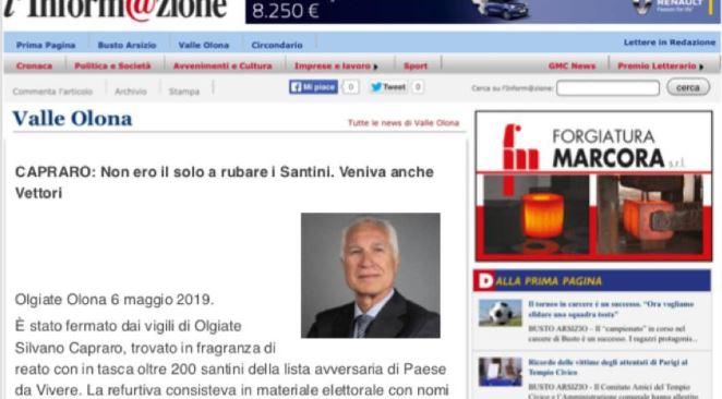 Le fake news sbarcano nella campagna elettorale di Olgiate