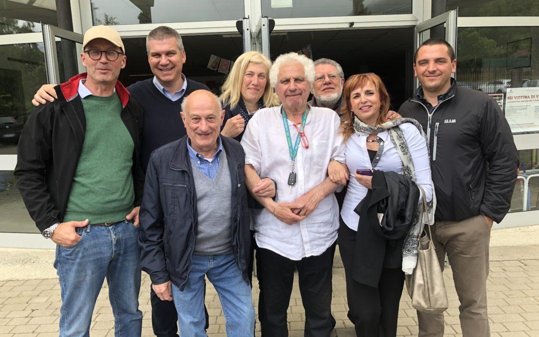 Ermes Colombaroli è il sindaco di Porto Valtravaglia
