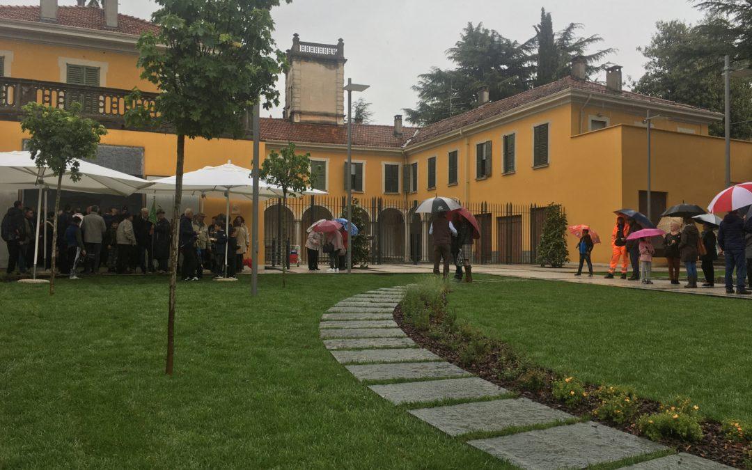 Inaugurato il parco di Villa Menni