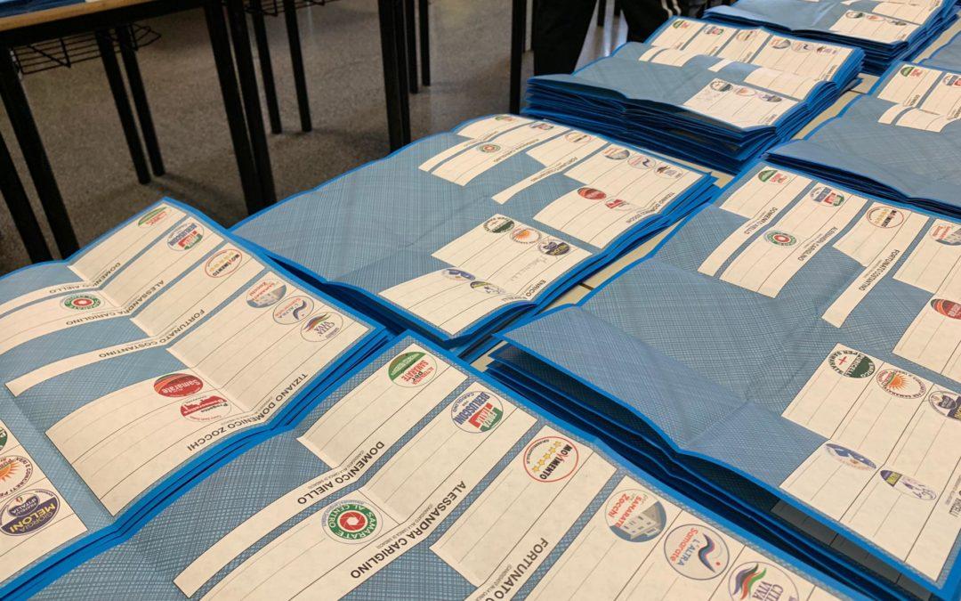 """Gli """"zero voti"""" alle elezioni comunali di Samarate"""