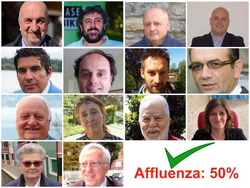 Quorum raggiunto: ecco i primi 14 (quasi) sindaci