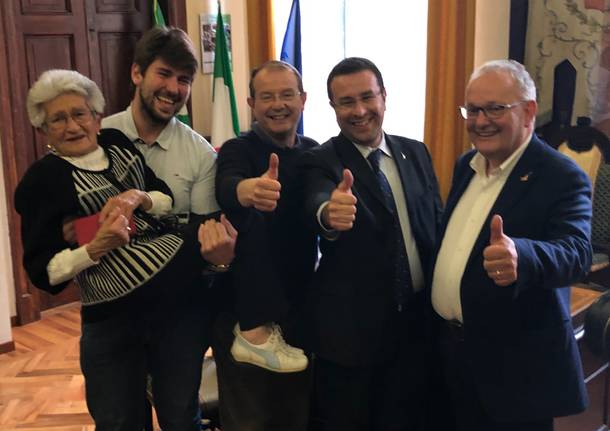 Giuseppe Bascialla è il nuovo sindaco di Tradate