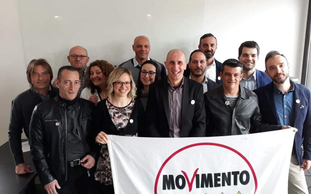 Fortunato Costantino presenta il team pentastellato