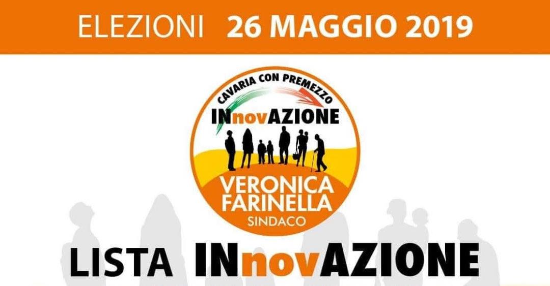 """Veronica Farinella e """"Innovazione"""" pronti per la serata di presentazione e per i gazebo per Cavaria"""