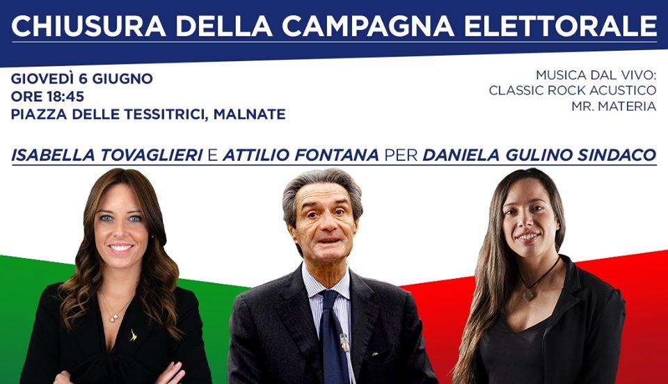 Festa di chiusura della Campagna Elettorale per Daniela Gulino